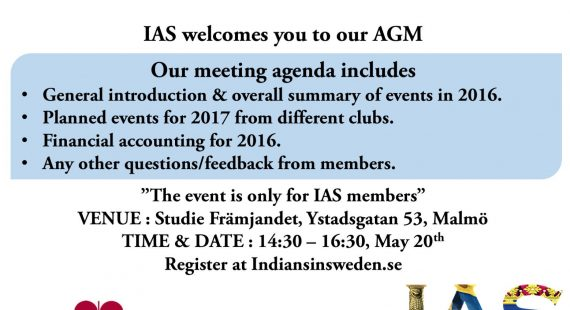 IAS Annual General Body Meeting 2017