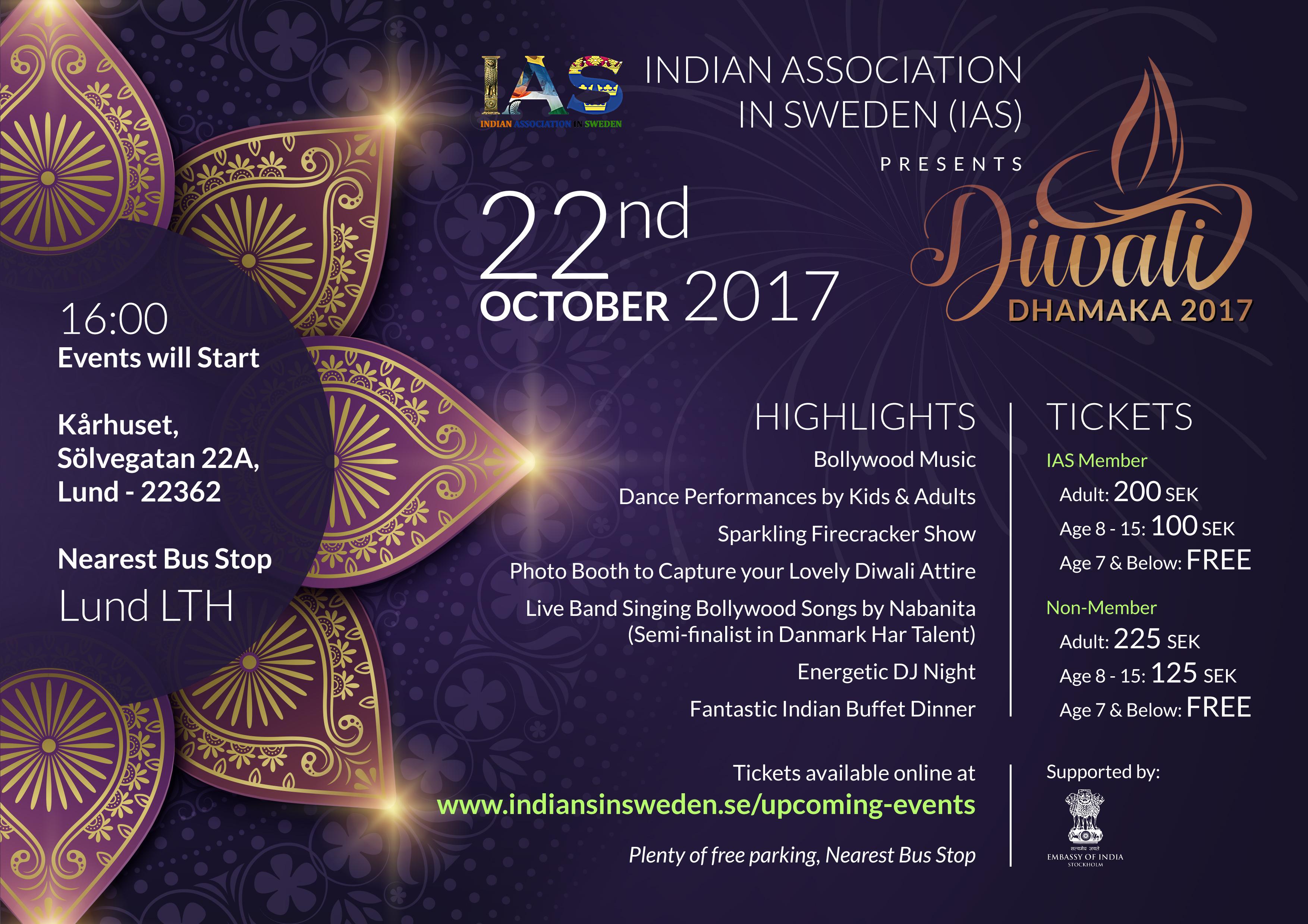 Diwali Dhamaka 2017 Malmo